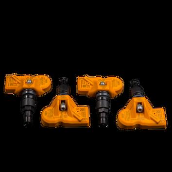 4x MINI RDK Sensoren 6856227 R55 R56 R57 R58 R59 R60 R61 RDCi schwarz NEU – Bild 2