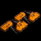 4x MINI RDK Sensoren 6856227 R55 R56 R57 R58 R59 R60 R61 RDCi schwarz NEU