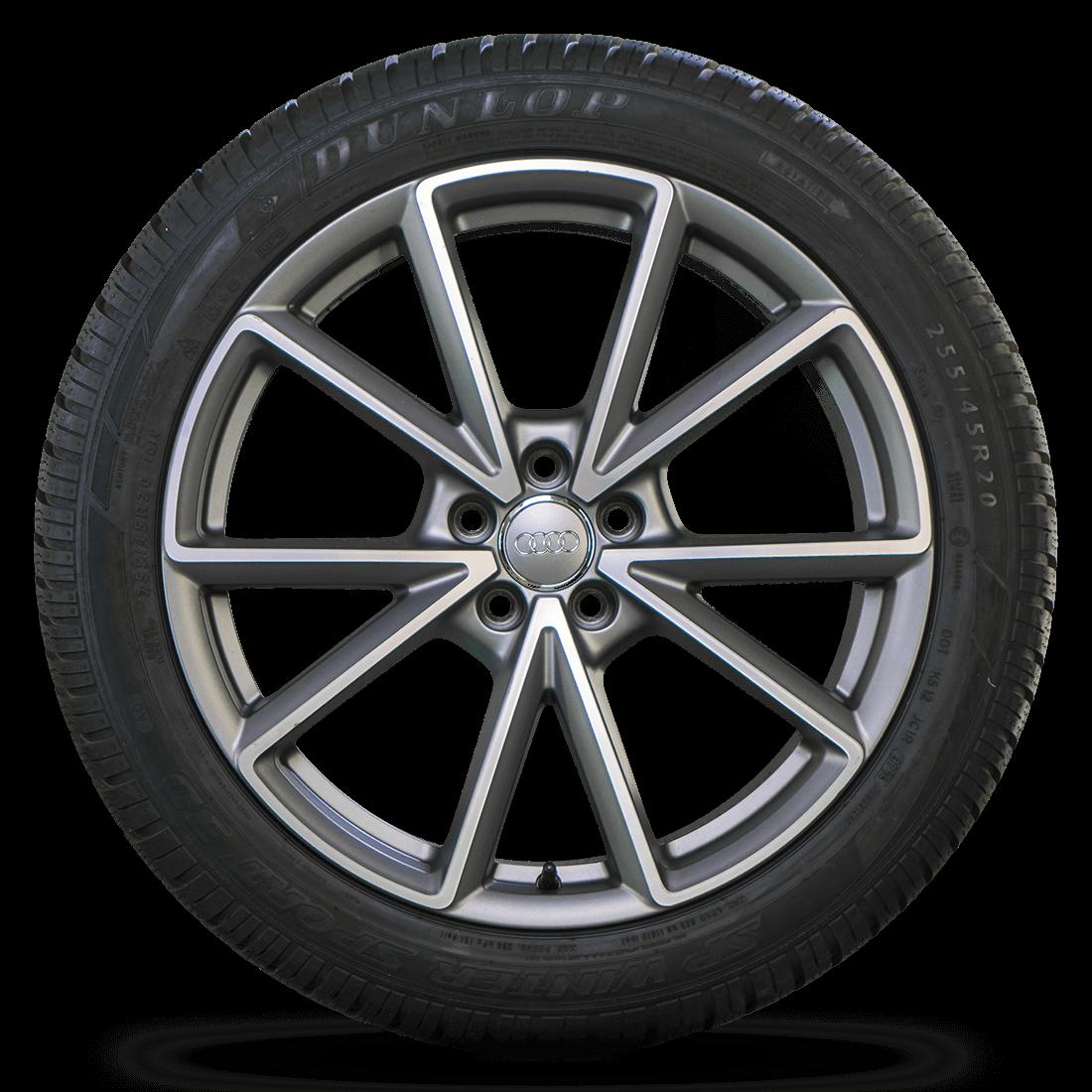 Audi 20 Inch Rims Q5 SQ5 8R Aluminum Rims Winter Tires Winter