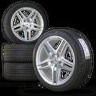 AMG 18 Zoll Felgen Mercedes C-Klasse W204 Alufelgen Sommerreifen Neu Sommerräder