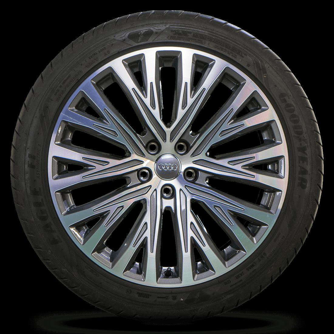 Original Audi 20 Inch Rims A8 S8 4N 4H Aluminum Rims Summer