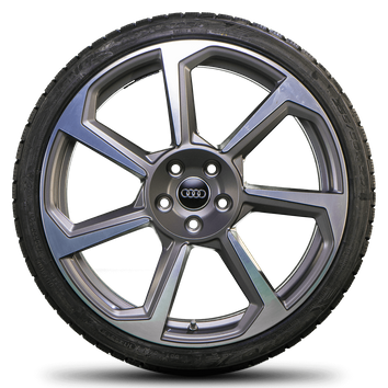 Audi 20 Zoll Felgen TT TTS TTRS 8S 8J Winterreifen Neu Rotor Winterräder  – Bild 2