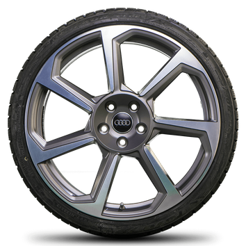 Audi 20 Zoll Felgen TT TTS TTRS 8S 8J Winterreifen Neu Rotor Winterräder  – Bild 4