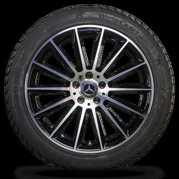 AMG 19 Zoll Mercedes Felgen GLA X156 W156 Alufelgen Winterreifen Neu Winterräder – Bild 2