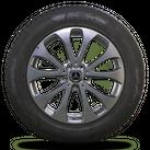 Mercedes 18 Zoll Winterräder Felgen GLC X253 C253 W253 Winterreifen 6,5 - 7 mm