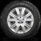 Mercedes 19 Zoll W166 GL GLS Felgen Winterreifen Winterräder A1664011702 8 mm