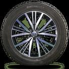 VW Sharan 7N 17 Zoll Alufelgen Sommerreifen Sommerräder Allstar 7N0601025S
