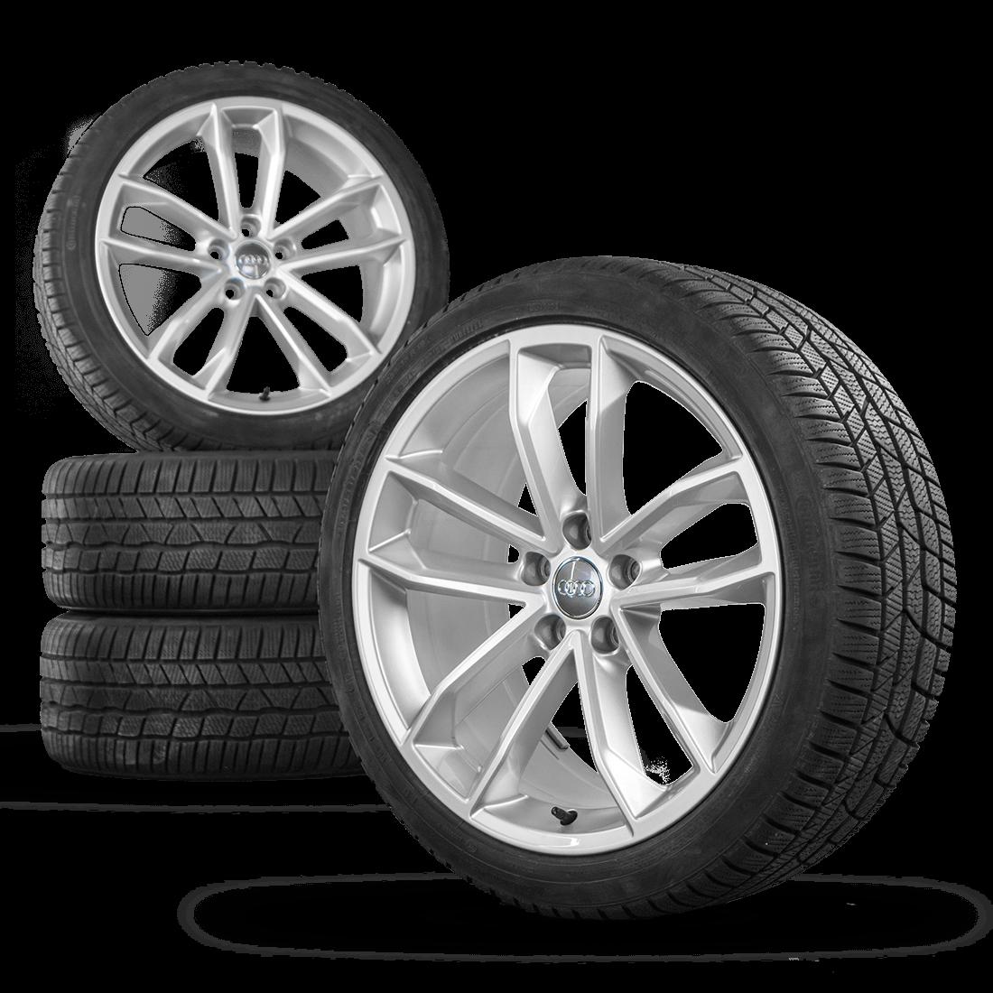 Audi A5 S5 8W F5 19 Inch Alloy Wheels Rim Winter Tyres Winter