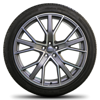 Original Audi 22 Zoll Felgen Q7 SQ7 4M Alufelgen Sommerreifen Sommerräder 7 mm – Bild 4
