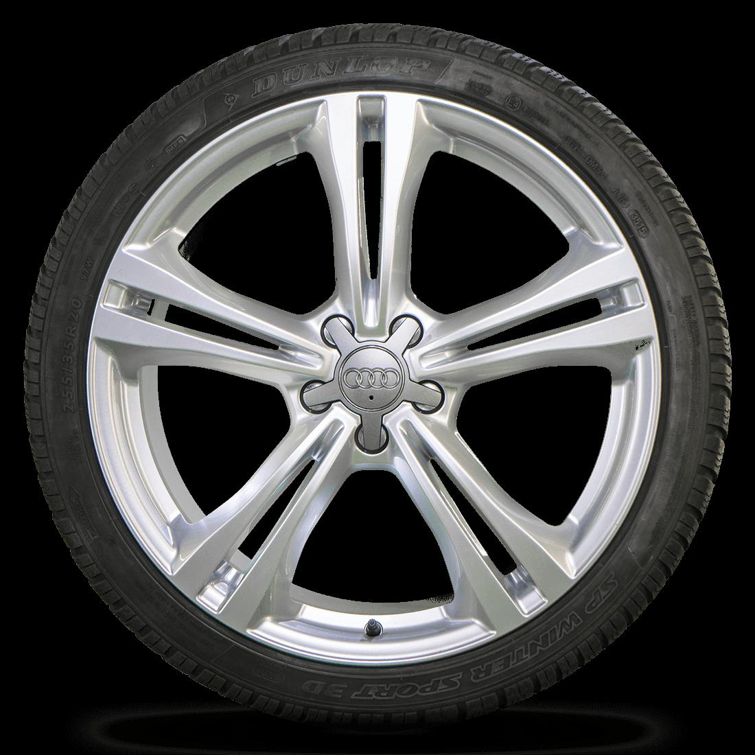 Audi 20 Inch Rims A6 S6 4G Aluminum Rims Dunlop Winter Tires