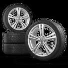 Audi 20 Zoll Felgen A6 S6 4G Alufelgen Dunlop Winterreifen Winterräder 6 mm