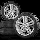 Original Audi 20 Zoll Felgen A6 4G Allroad Pirelli Winterreifen Winterräder 6 mm