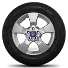 Mercedes 17 Zoll Felgen GLK Klasse W204 X204 Winterreifen Winterräder Alufelgen