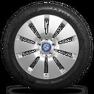 Mercedes 17 Zoll Felgen C-Klasse W205 Winterreifen Winterräder A2054012100