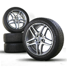AMG 19 inch winter wheels Mercedes S-Class W222 C217 A217 winter tires 5 mm