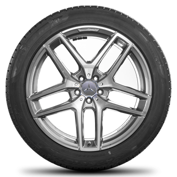 21 Zoll Mercedes GLE C292 Coupe & GLE63 43 AMG Felgen Winterreifen Winterräder  – Bild 2