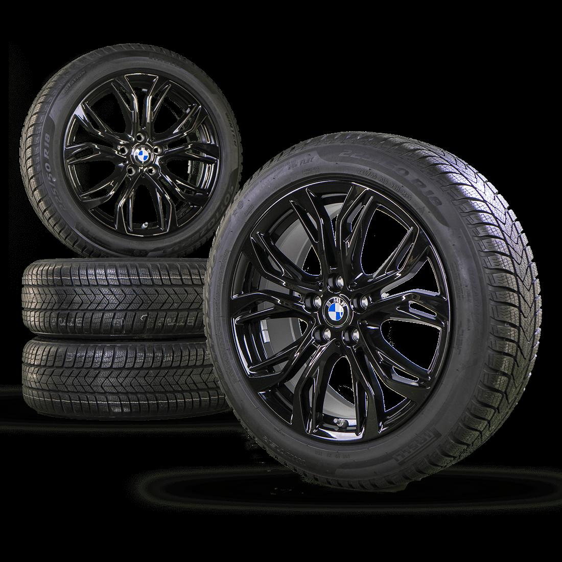 bmw 18 inch x1 f48 f49 x2 f39 winter wheels rims winter tires. Black Bedroom Furniture Sets. Home Design Ideas