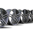 4x AMG 20 inch rims Mercedes E-class E 63 & E63 S W213 S213 alloy rims NEW