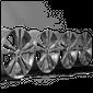 18 inch Mercedes AB class W246 W176 CLA W117 rims aluminum rims A2464010400 NEW 7