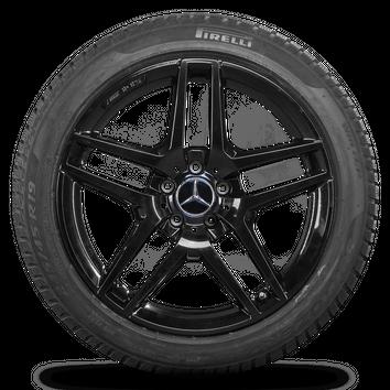 AMG 19 Zoll Winterräder Mercedes S-Klasse W222 A217 C217 Felgen Winterreifen – Bild 4