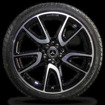 20 Zoll Mercedes E-Klasse W213 E43 E53 AMG Felgen Alufelgen Sommerreifen NEU – Bild 4
