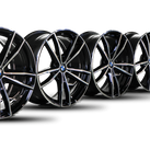 4x original BMW 19 inch rims 3er G20 G21 aluminum rims 8090094 8090095 M791 NEW