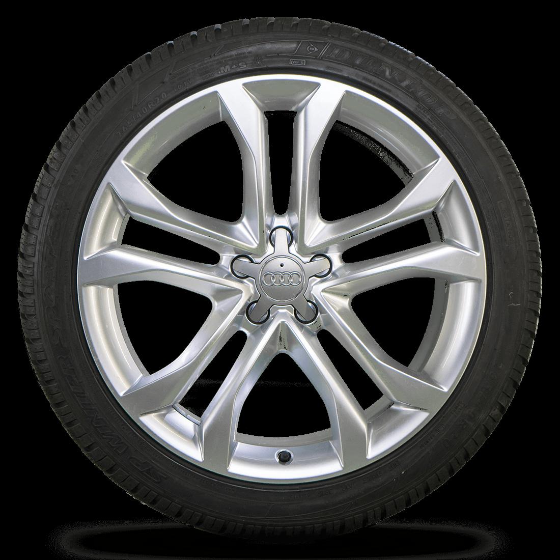 Audi 20 Inch Rims A8 S8 4H 4N Aluminum Rims Winter Tires