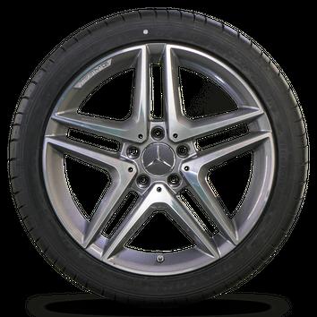 Mercedes 18 Zoll A45 AMG CLA 45 250 W176 W117 Sommerräder Felgen Alufelgen NEU – Bild 2