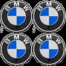 4x original BMW Nabendeckel Felgendeckel Nabenkappen 2er F22 F23 F87 M2 NEU