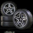 AMG 19 Zoll Mercedes GLA X156 W156 Alufelgen Felgen Sommerreifen Neu Sommerräder