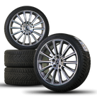 AMG 19 inch Mercedes C-Class W205 winter tires winter wheels complete winter