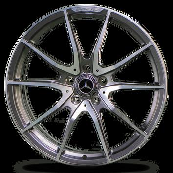 19 20 Zoll Felgen AMG GTR Mercedes Alufelgen A1904011300 A1904011400 grau NEU – Bild 4