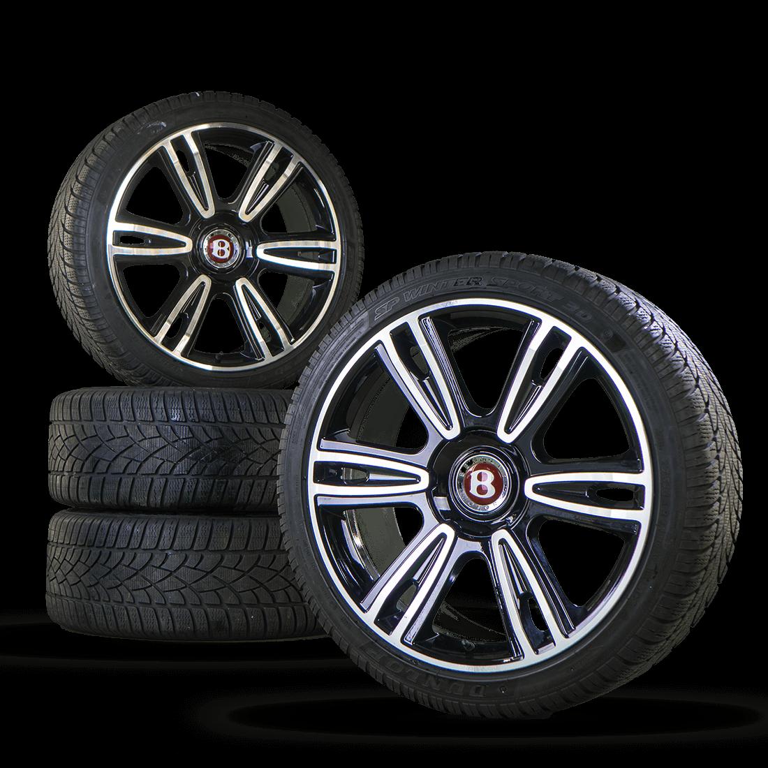 Bentley 21 Inch GT GTC Flying Spur Rims Aluminum Rims Winter