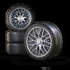 AMG 19 inch Mercedes C63 & C63 S W205 S205 rims summer tires summer bikes