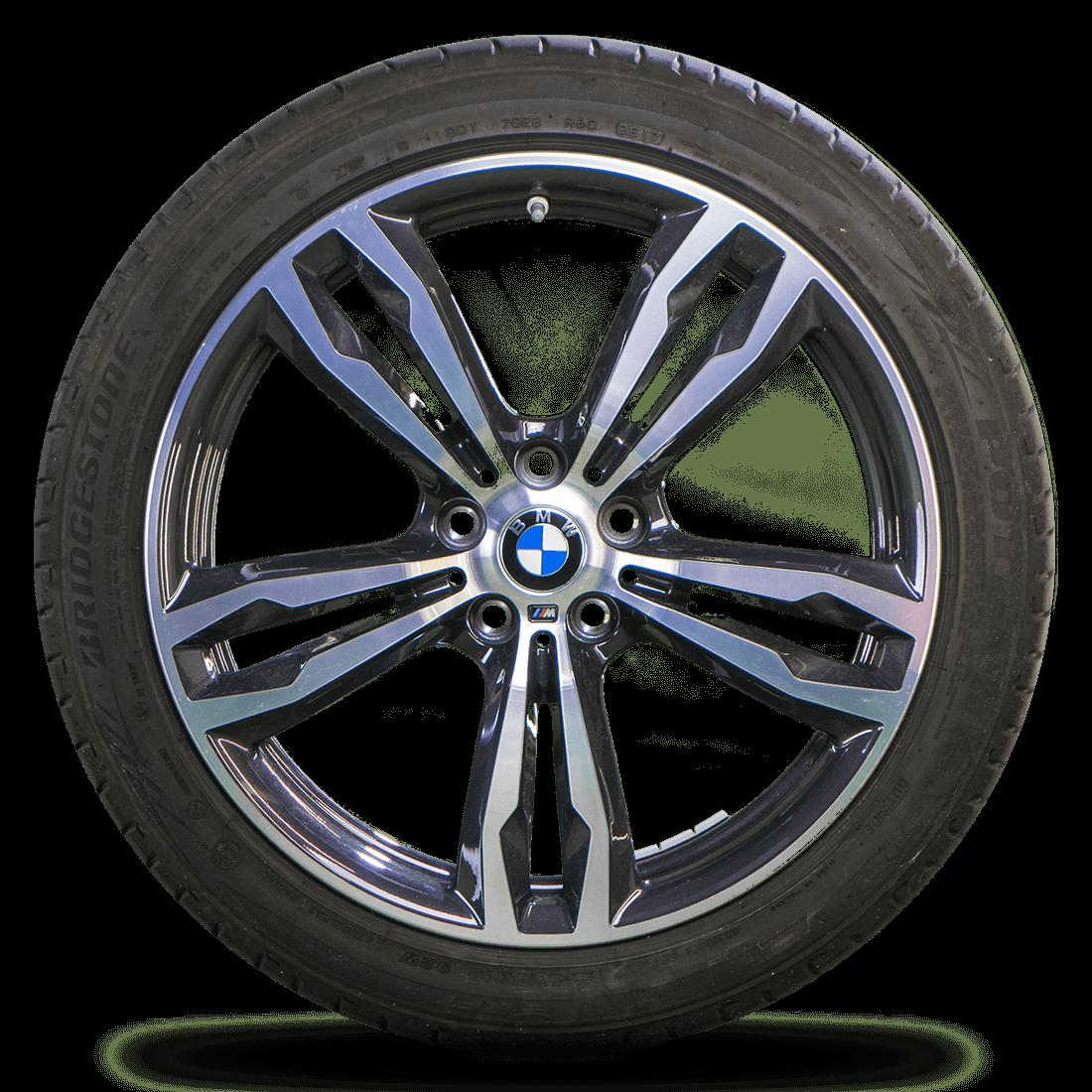 BMW 19 Zoll X1 F48 X2 F39 Alufelgen Felgen Styling M572 Sommerreifen Sommerräder