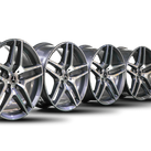 4x AMG 19 inch Mercedes Benz S-Class W222 W217 Convertible Coupe Rims Alloy Rims
