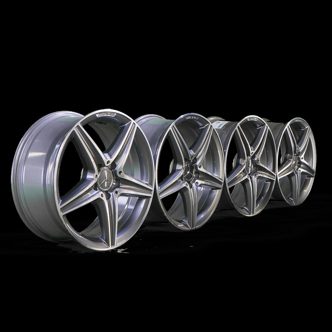 4x AMG 18 inch rims Mercedes E-class W213 convertible coupe W238 alloy rims  NEW