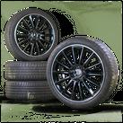 AMG 19 inch rims Mercedes AB class W177 W247 aluminum rims summer tires 7 mm