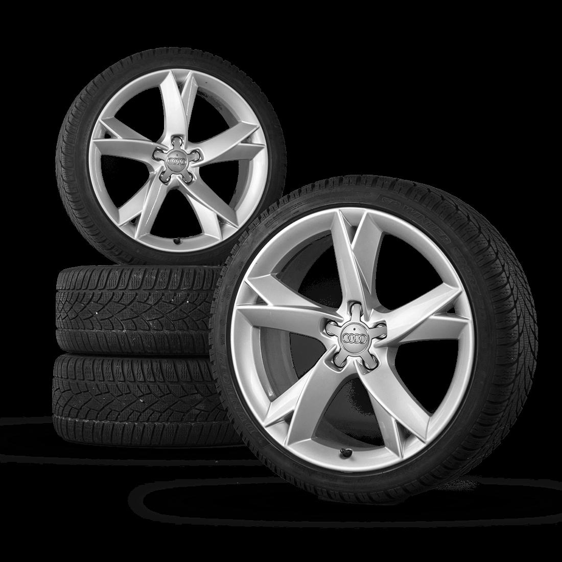 Audi 19 Inch Rims A5 S5 B8 8T 8F Aluminum Rims Winter Tires