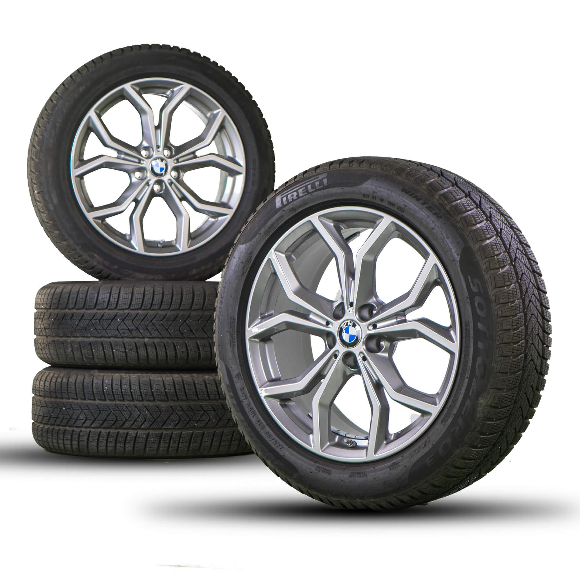 Details About Bmw 19 Inch Rims X3 G01 X04 G02 Alloy Wheels New Winter Wheels Winter Wheels 694
