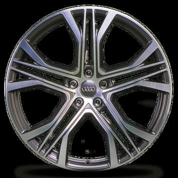4x Audi 21 Zoll Felgen A7 S7 4K C8 A6 S6 4G Alufelgen 4K8601025AA Y-Speiche NEU – Bild 5