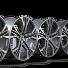 4x Audi 21 inch rims A7 S7 4K C8 S line aluminum rims 4K8601025AA Y-spoke NEW