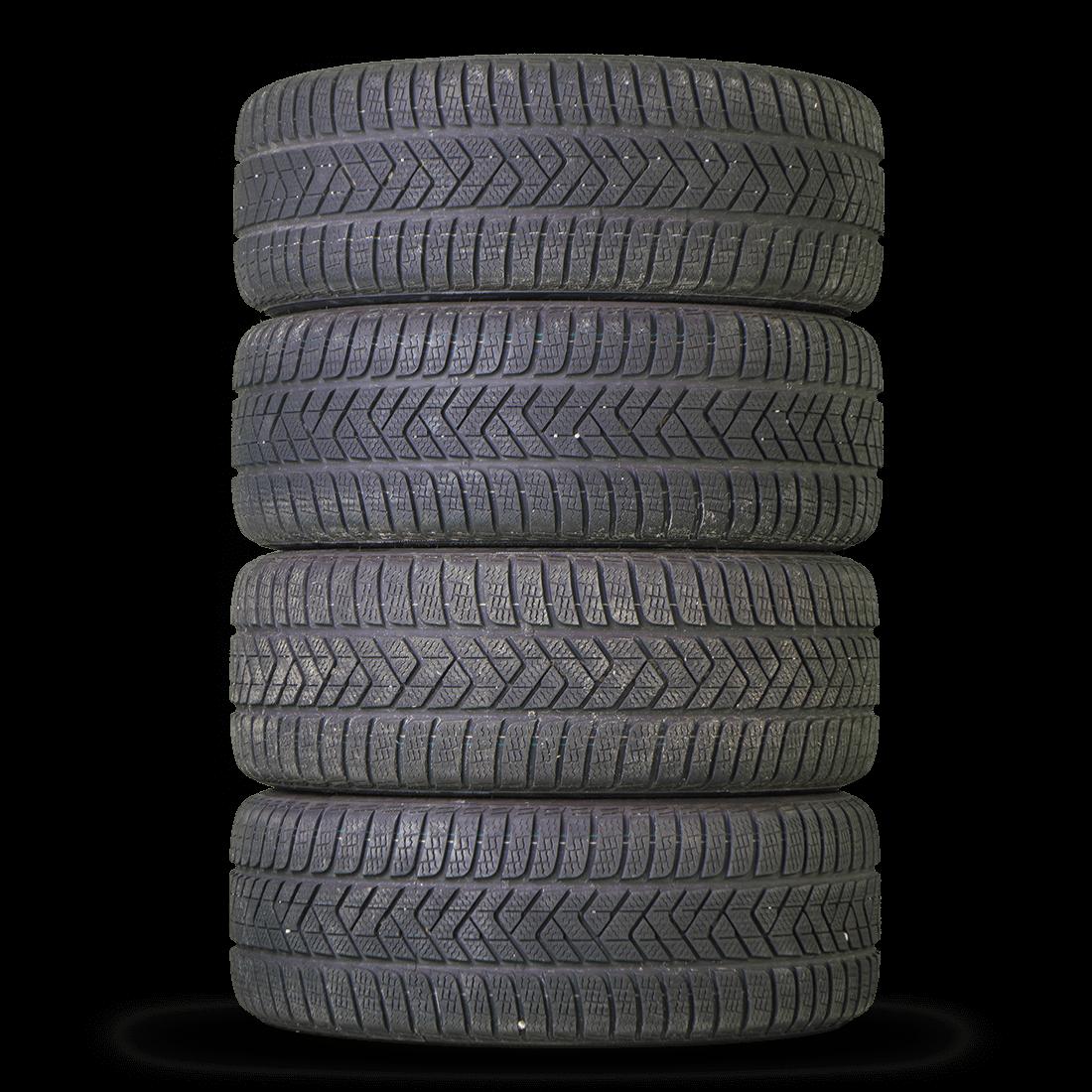 Audi 18 Inch Rims A4 S4 B9 8W Aluminum Rims Winter Tires