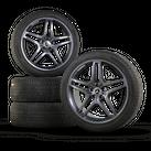 AMG 21 inch rims GLE SUV ML W166 aluminum rims winter tires winter wheels 6 mm