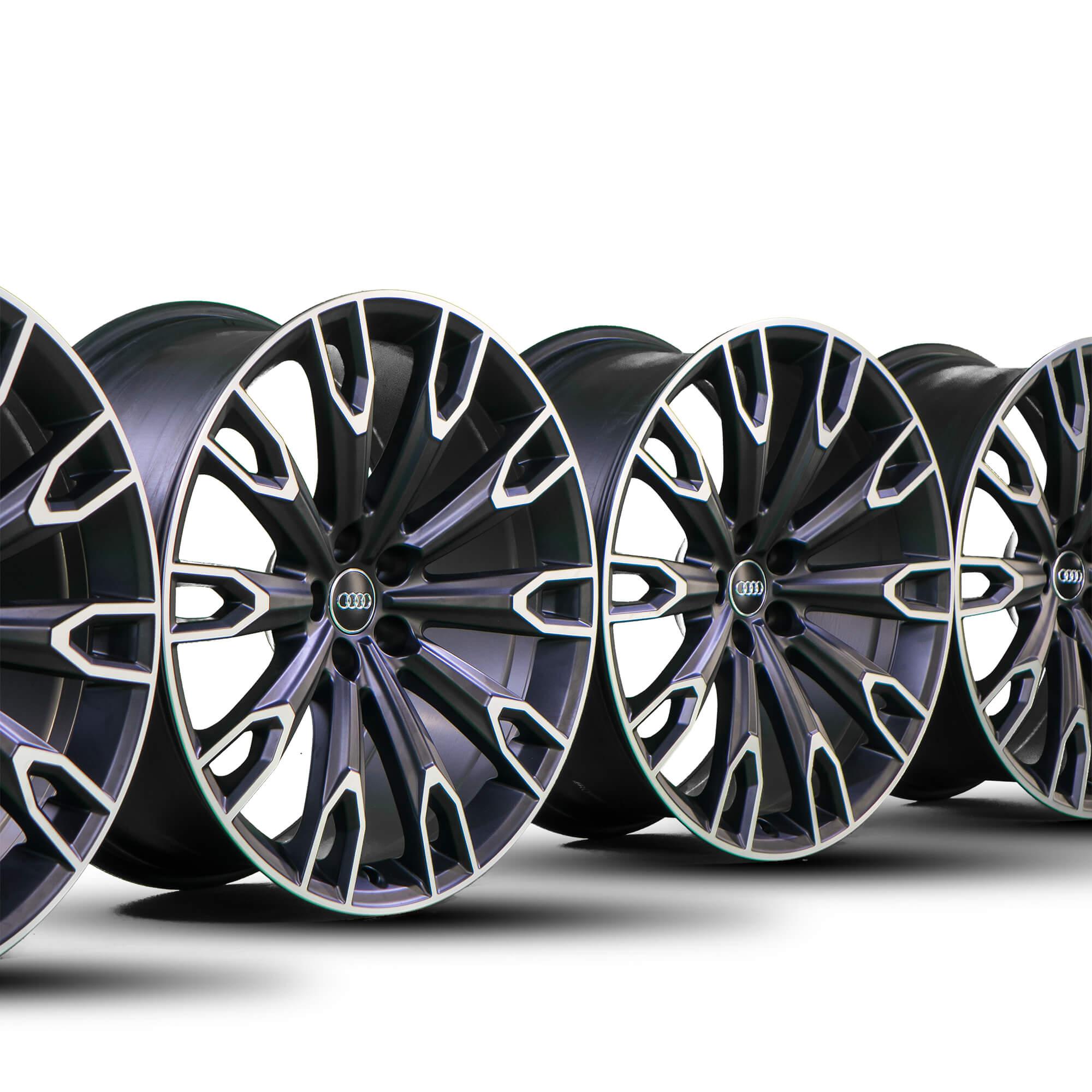 Audi 21 Zoll Alufelgen Q7 4M Q5 SQ5 A5 S5 RS5 A6 S6 RS6 A7 S7 RS7 A8 S8 4H Talea Felgen