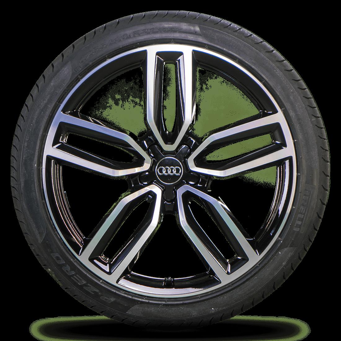 Audi 21 Zoll Felgen Q5 SQ5 8R Alufelgen Sommerreifen Sommerräder 8R0601025CP NEU