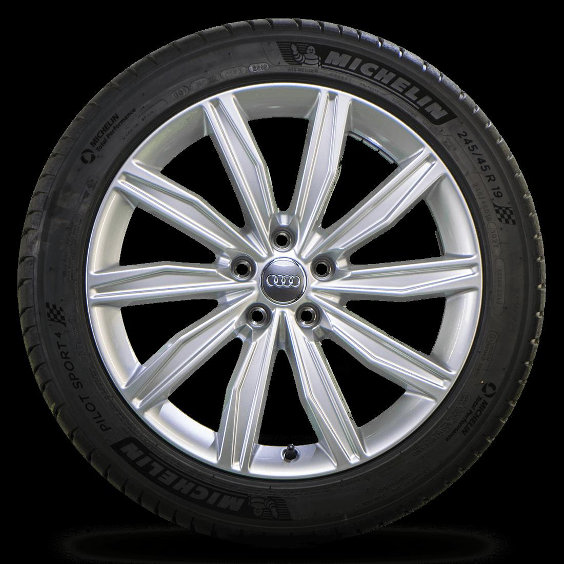 Audi 19 Zoll Felgen A6 S6 4K C8 Alufelgen Michelin Sommerreifen Sommerräder NEU
