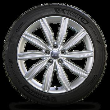 Audi 19 Zoll Felgen A6 S6 4K C8 Alufelgen Michelin Sommerreifen Sommerräder NEU – Bild 2