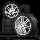 AMG 19 inch rims Mercedes SL W231 aluminum rims winter tires winter wheels 7,5