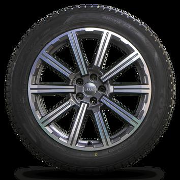 Audi 20 Zoll Felgen Q7 SQ7 4M Alufelgen Winterreifen Winterräder 4M0601025AD NEU – Bild 4